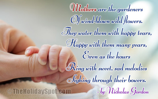 Short Mother's Day Poems | Free Mother's Day Poems for Kids