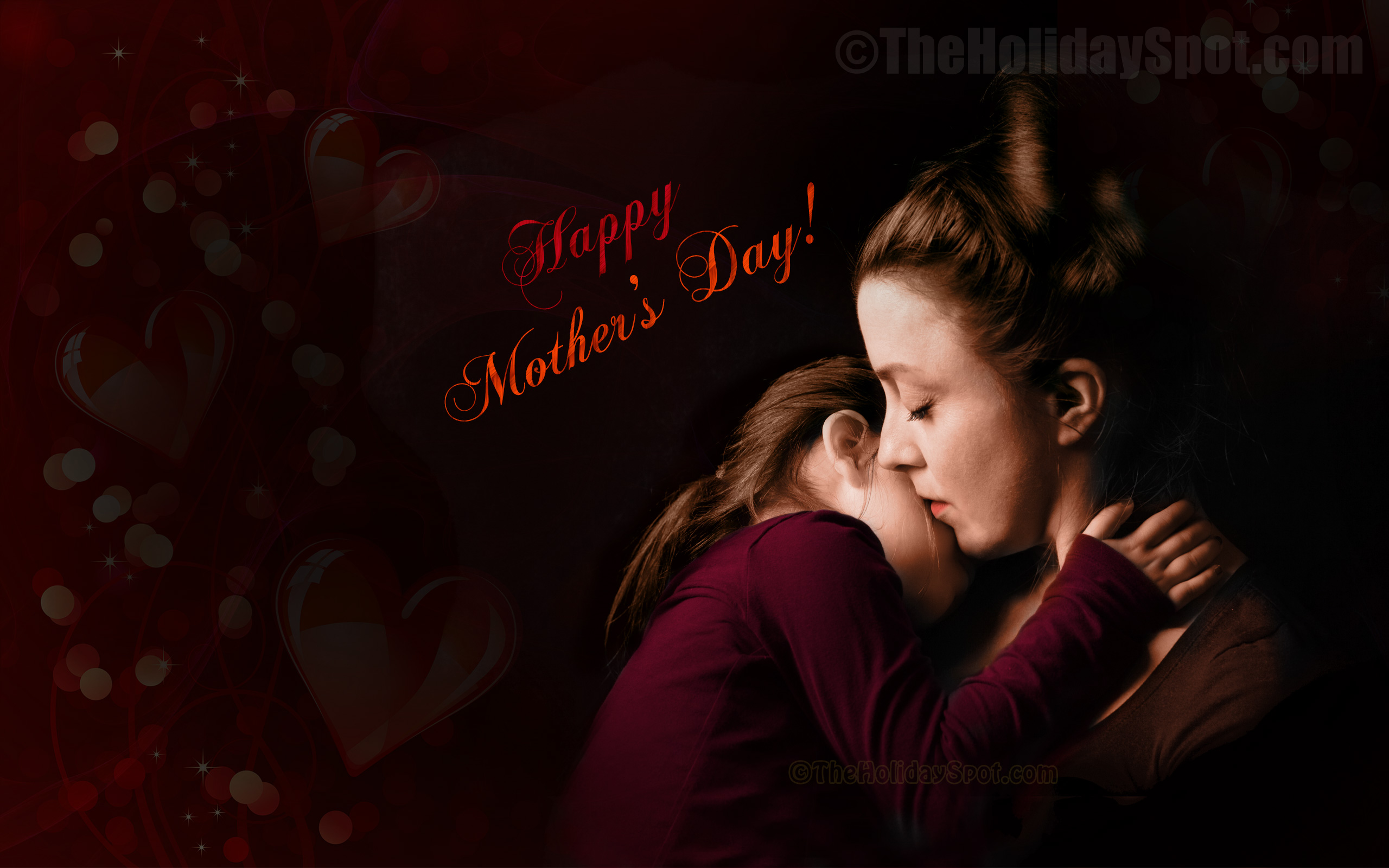 wallpaper with happy mothers day wishes