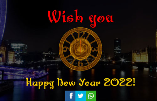 animated new year greetings with fireworks for whatsapp facebook twitter and google plus