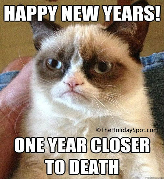 new year jokes closer to death joke