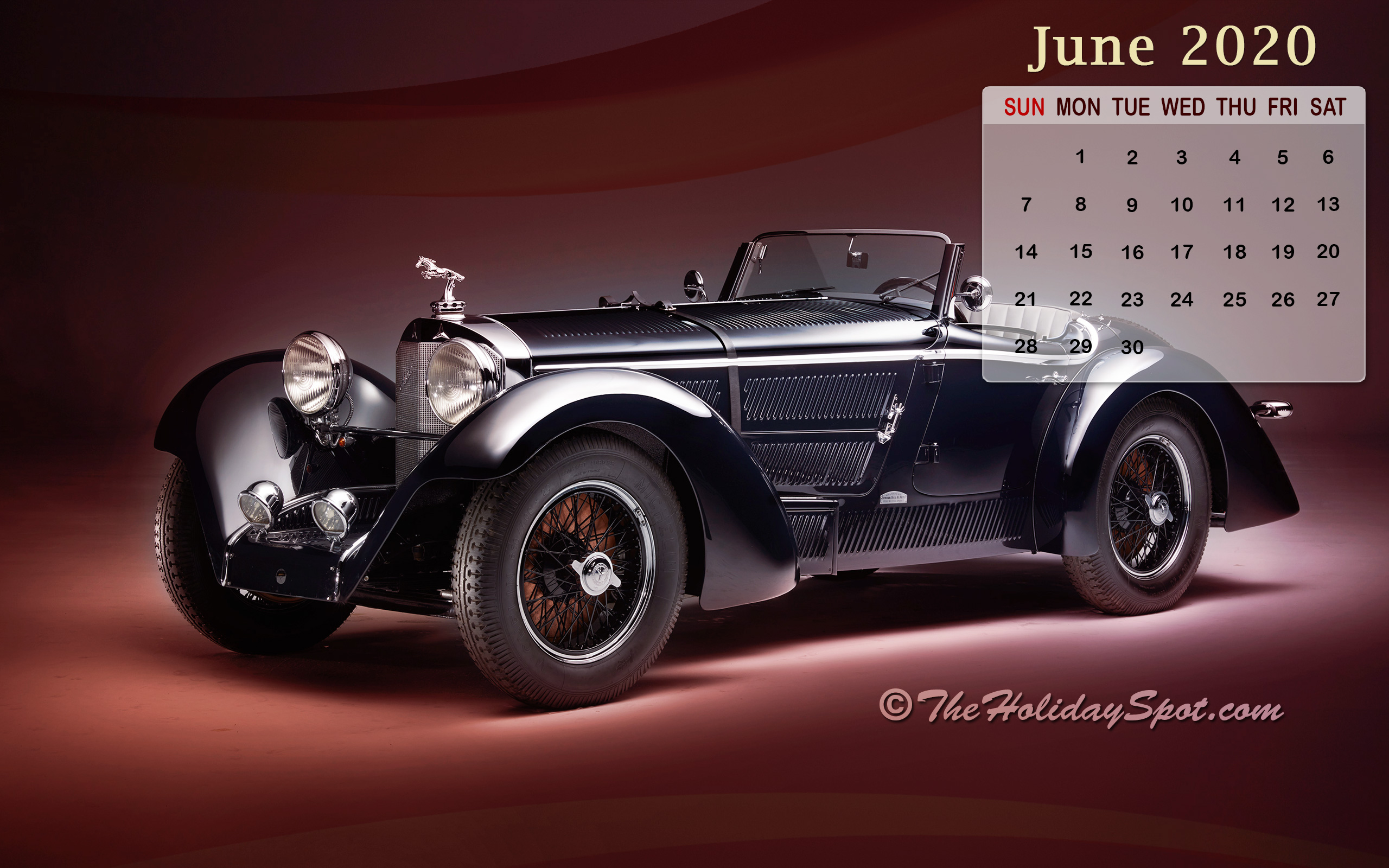 Month wise Calender Wallpapers 2020