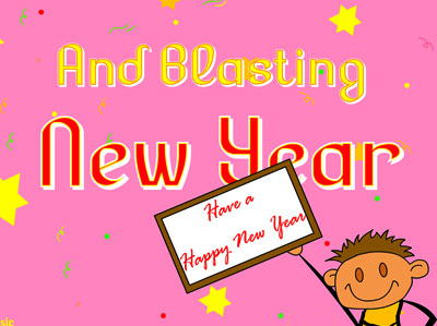 have a blasting new year