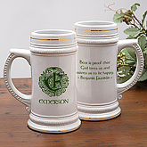Celtic Famous Quotes Personalized Beer Stein