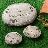 Irish Clover Personalized Garden Stones