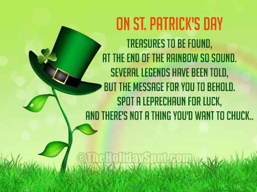 33c0bdd4 Poem - On St. Patrick's Day