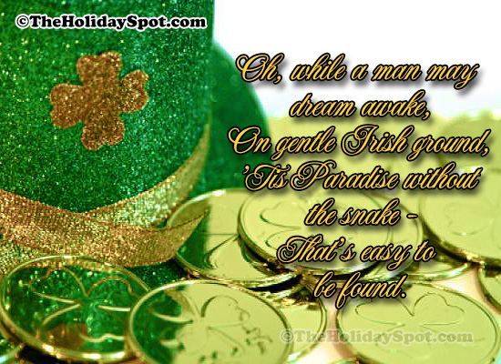 st patricks day quotes on gentle irish ground