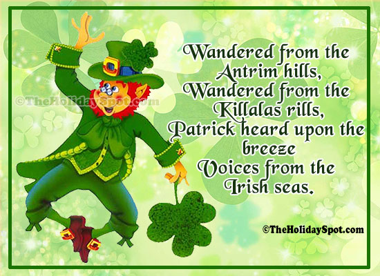 St patricks day greeting cards quotes on voices from the irish seas m4hsunfo