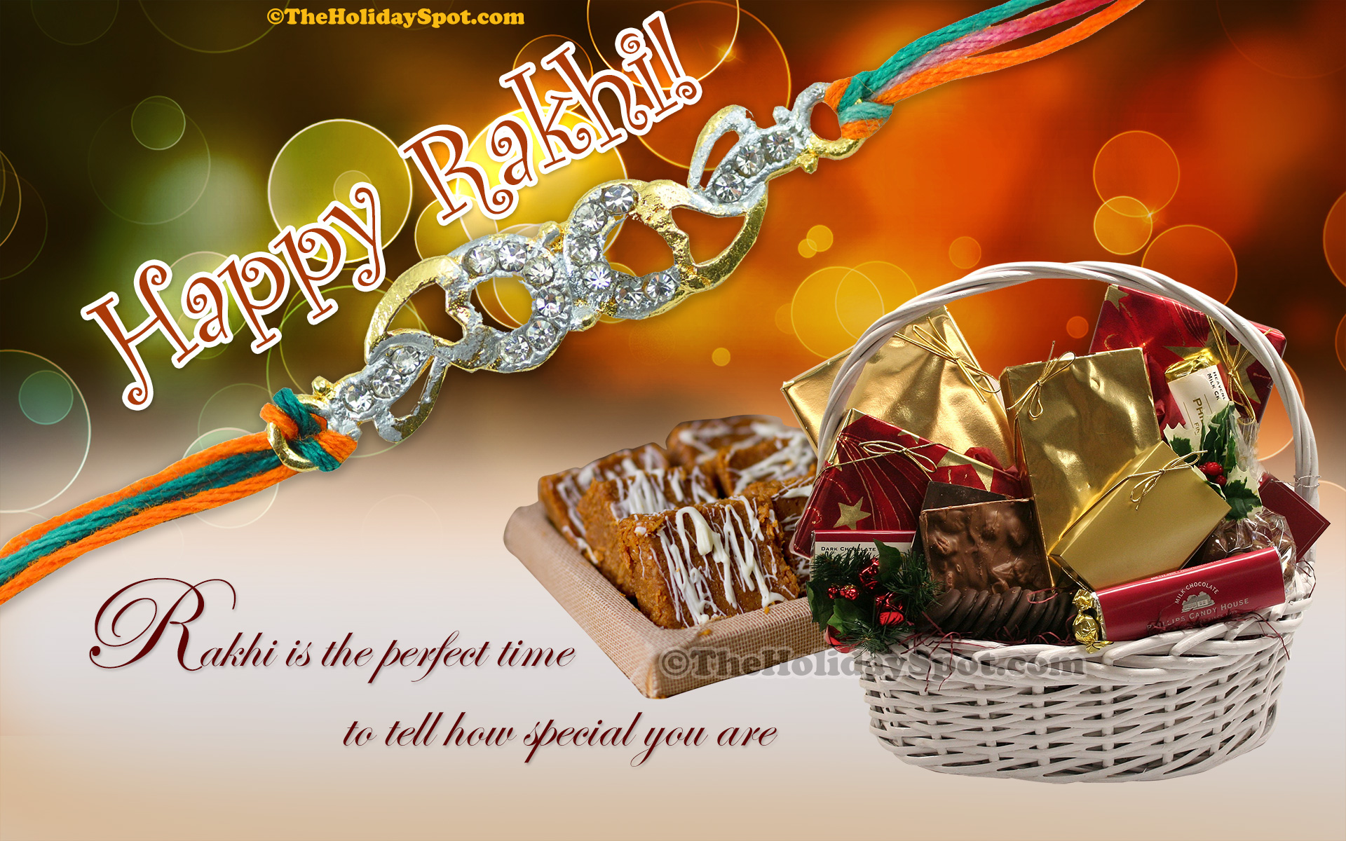 Rakhi wallpapers hd rakhi wallpaper featuring gifts and sweets for the occasion kristyandbryce Image collections
