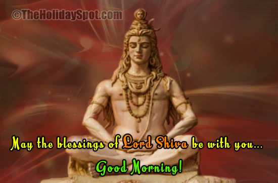 Lord Shiva Greeting Cards