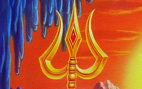 New God Shiva Trishul HD Wallpaper for free download