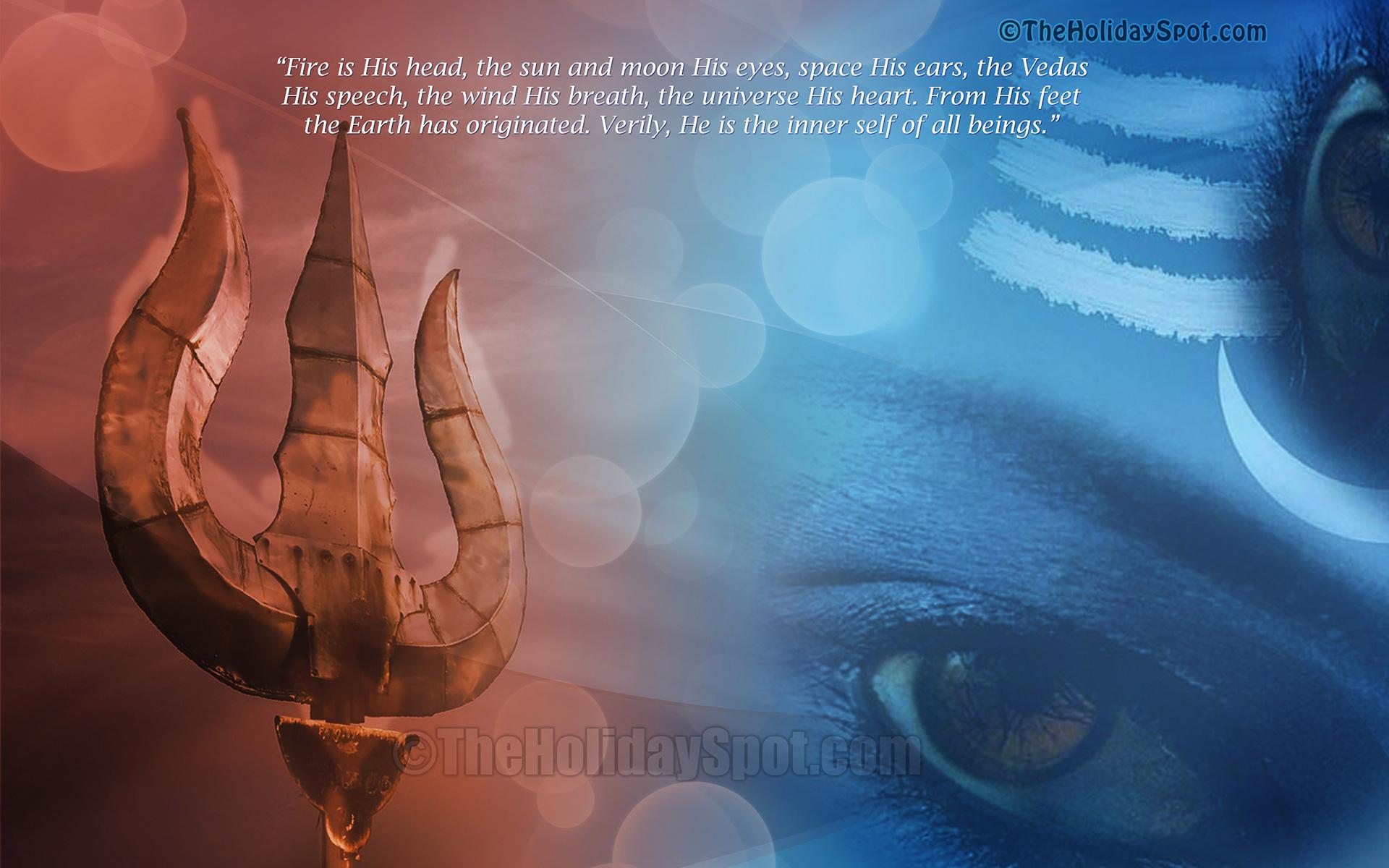 1366x768 Lord Shiva Desktop Background: Shivratri Wallpapers