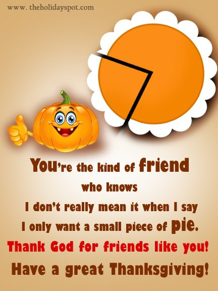 Thank God for friends like you!