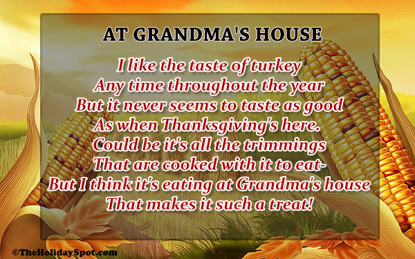 Thanksgiving Poems | Short Poems on Thanksgiving | Best ...