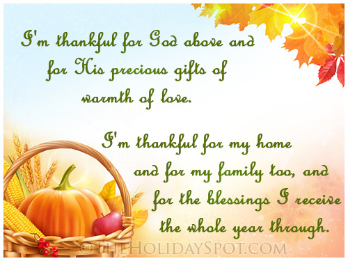 Thanksgiving Prayers - Catholic Prayers | Short Thanksgiving Prayers to God