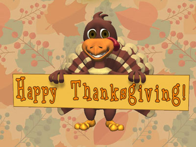 Animated Thanksgiving Animated Wishes