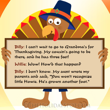 Thanksgiving Jokes Humor