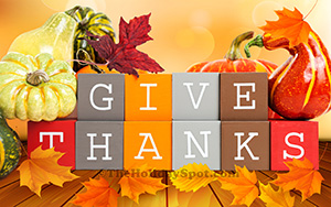 High Definition Thanksgiving wallpaper - Give Thanks
