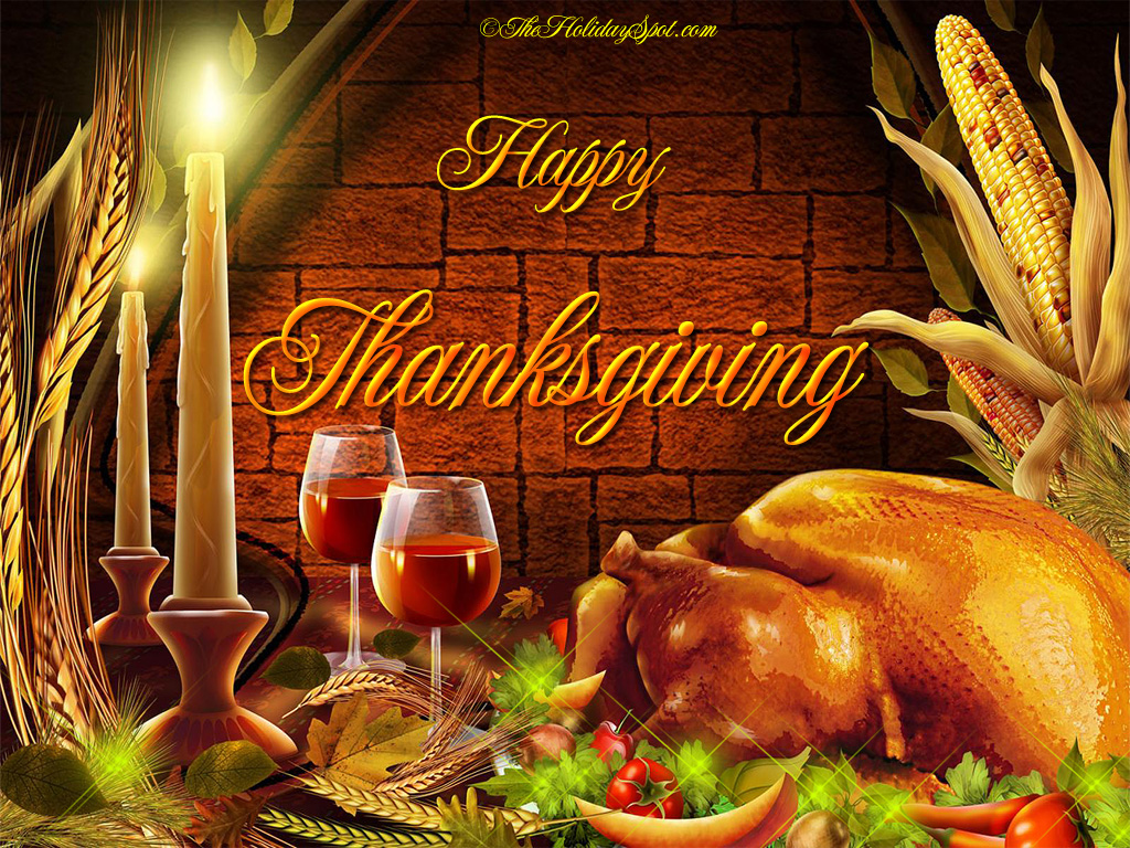 Thanksgiving Wallpapers : thanksgiving dinner from www.theholidayspot.com size 1024 x 768 jpeg 511kB