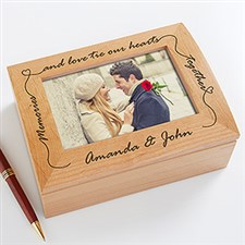 Our Memories & Love Personalized Photo Box