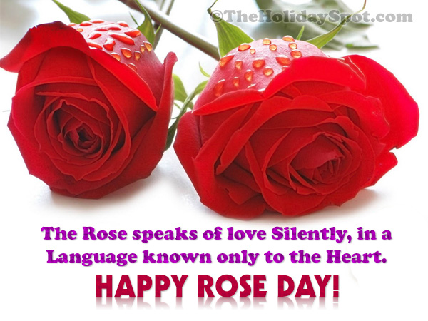 Großartig Rose Day Greeting Card