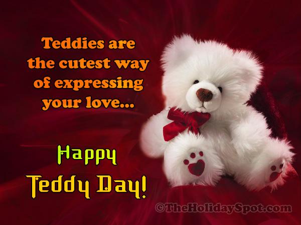 Teddy Day Card for WhatsApp