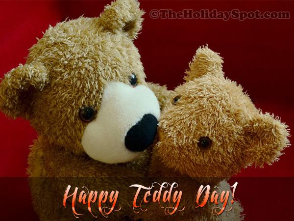 Teddy Day Greeting Card for WhatsApp