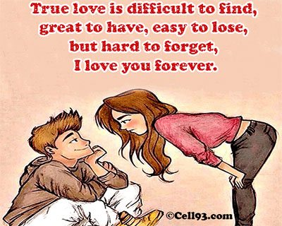 True Love is difficult to find
