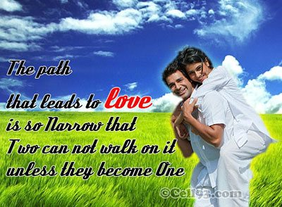 The path that leads to Love
