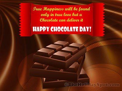 Chocolate Day Card