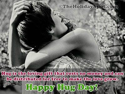 Hug Day Card for WhatsApp