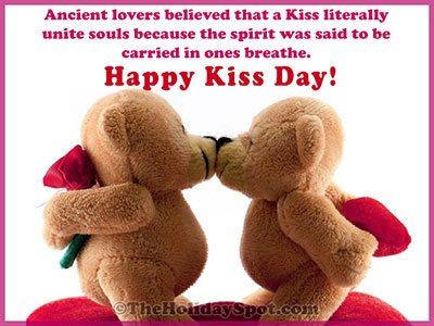 Kiss Day wishes Card