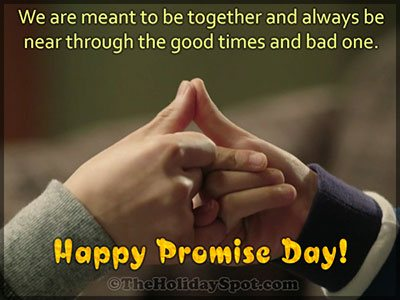Promise Day Card for WhatsApp