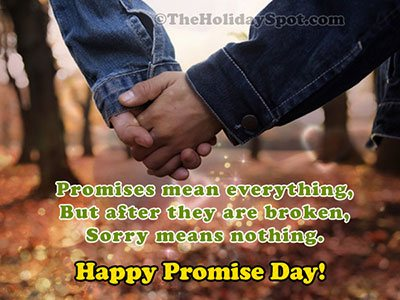 Promise Day Greeting Card