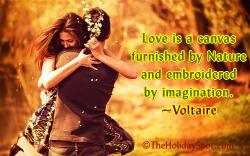 valentine love quotation