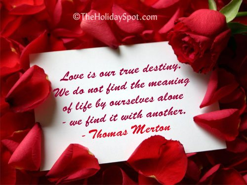 I Love You Quotes Valentines Day : Valentines Day Quotes and Sayings Love Quotations