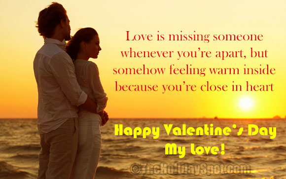 romantic valentines day message - Valentines Text Messages