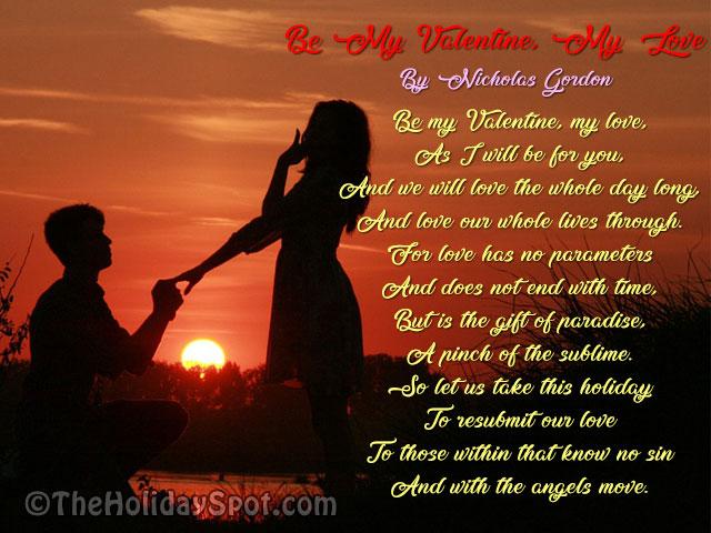 Valentine's Day Poems - Romantic Love Poems