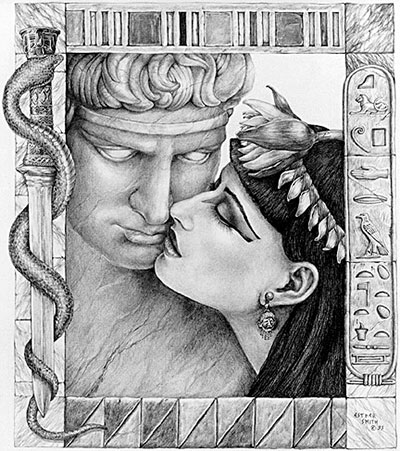 Cleopatra and marc anthony love story