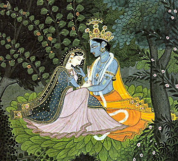 Indian Love Story: Radha and Krishna