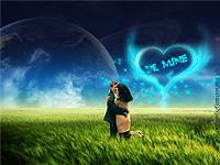 High Quality Desktop Illustration of love
