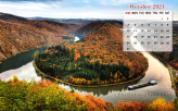 Calendar Wallpaper - October 2021