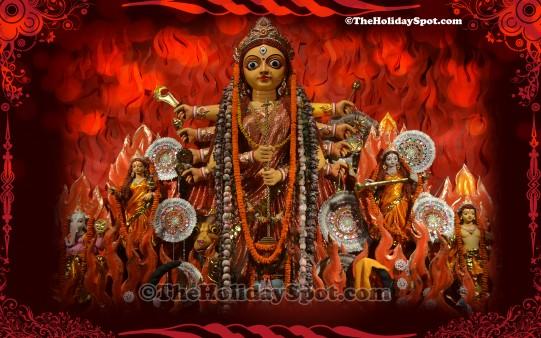 Durga Puja Hd Wallpaper: Wallpapers From TheHolidaySpot