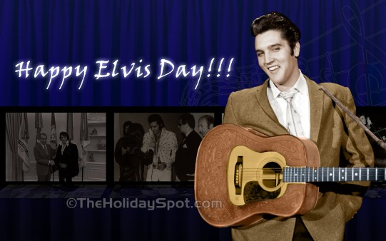Happy Elvis Day Wallpapers From Theholidayspot