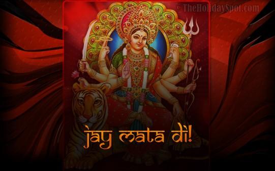 Jai Mata Di Wallpapers From Theholidayspot