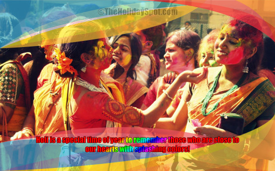 Holi Celebrations - Wallpapers From TheHolidaySpot