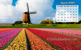 Calendar Wallpaper - Apri…