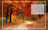 Calendar Wallpaper - September 2019