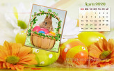 April 2020 Calendar Wallp…